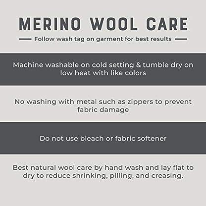 MERIWOOL Merino Wool Kids Hiking Socks for Children 3 Pairs 9