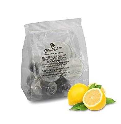 100 capsules compatibles Nespresso thé noir au citron, 100 capsules compatibles avec machine à cafe nespresso, Nespresso paquet 100 capsules compatibles, thé noir au citron, capsules compatibles