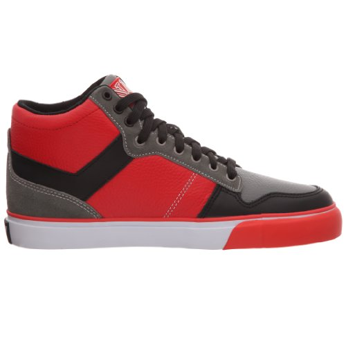 Pony Signature, Baskets mode homme Rouge / Noir / Gris