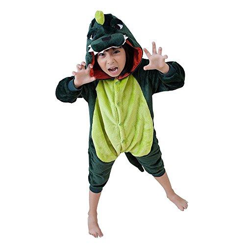 yjama Nachtwäsche Cosplay Kostüm Schlafanzüge Für Jungen Mädchen (95#, D) (Kostüm D'animal)