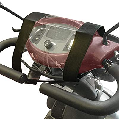 ProCOVERTM Mobility Scooter Console Cover/Control Panel Protector/Tiller Cover - Waterproof - Easy Fix - High Quality - Rain Protector