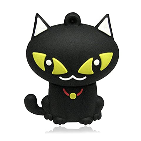 818-Shop no1950005 exchange sheath for USB flash drive (without 2/4/8/16/32/64 GB) Curious cat 3D black