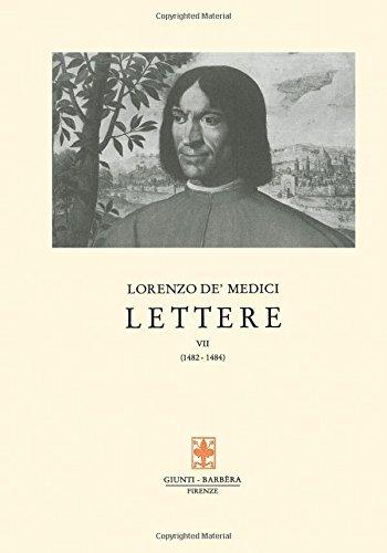 Lettere: 7 (Carteggio di Lorenzo il Magnifico) por Lorenzo de' Medici