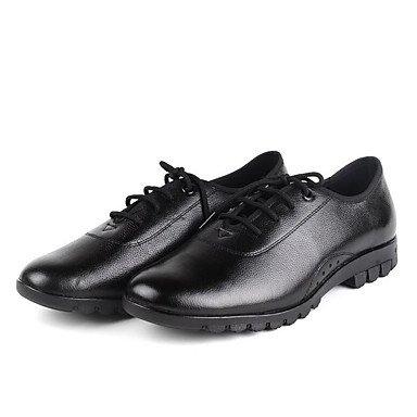 Scarpe da ballo-Non personalizzabile-Da uomo-Moderno / Stivali di danza-Basso-Di pelle-Nero / Marrone Black