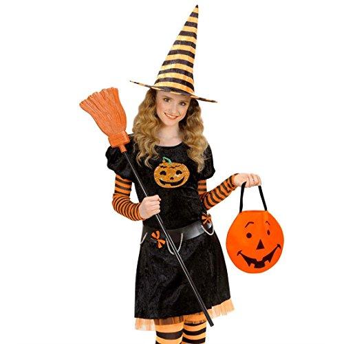 NET TOYS Halloween Kürbis Tragetasche Tasche Kürbisgesicht Beutel Kürbistasche Taschen Handtasche Kostüm Zubehör Damen Trick or Treat