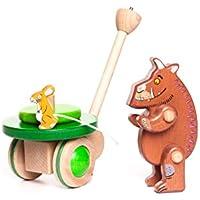 Holzspielzeug Ziehtier Elefant Basjo NEU & OVP