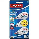 Tipp-Ex® Mini Pocket Mouse 5m 3er Sparpack | 2 Mäuse + 1 Maus Gratis!