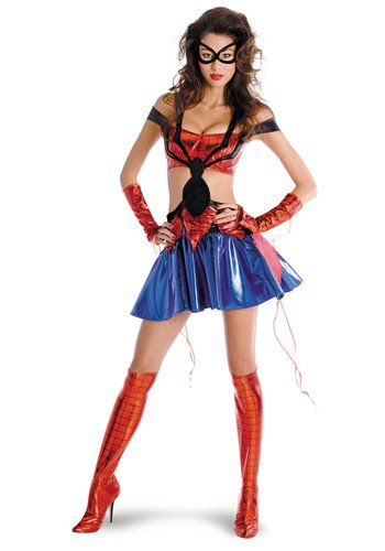 Spider Girl Sexy Prestige Adult Costume 8-10