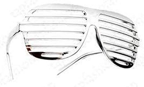 Chrome / Chrom Neuheit-Shutter Shades Sonnenbrille