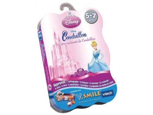 Vtech-Cartouche de Spiel v. Smile Cinderella-92245
