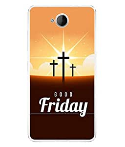 PrintVisa Designer Back Case Cover for Lumia 650 (holy cross good Friday symbol)
