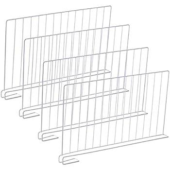3er Set Regaltrenner Schrankteiler Schrankaufteiler Schrankeinteiler 26x24,5cm