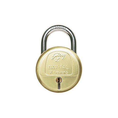 Godrej Locks Navtal 7 Levers Hardened - 3 Keys