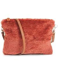 6871ac5cd Amazon.es: Granate - Carteras de mano y clutches / Bolsos para mujer ...