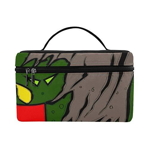 Easy Edit Vogelscheuche Halloween Lunchbox Tote Bag Lunch Holder Isolierte Lunch Cooler Bag Für Frauen/Männer/Picknick/Bootfahren/Strand/Angeln/Schule/Arbeit