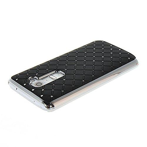 MOONCASE Coque en Cuir Portefeuille Housse de Protection Étui à rabat Case pour Apple iPhone 6 Plus Voilet Noir