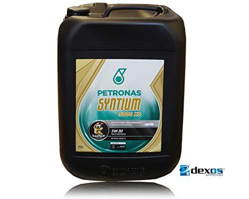 - Petronas Syntium 5000 XS 5W-30 - Olio motore completamente sintetico, 20 lit