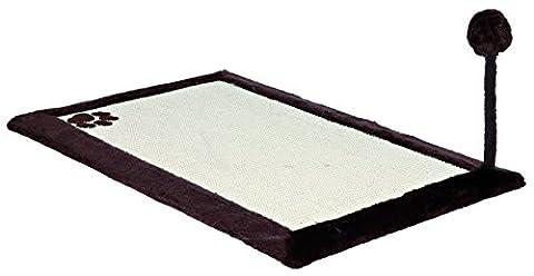 Trixie 4323 Scratching Pad with Plush Edge 70 Ã - 45 cm Dark Brown
