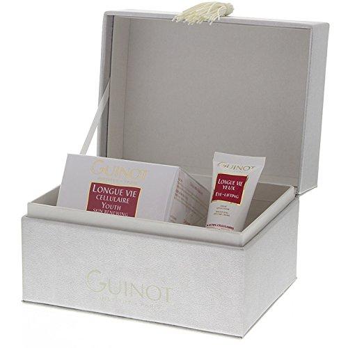 GUINOT Coffret Longue Vie, Anti-Age Set, Luxusgeschenkbox, Longue Vie Cellulaire 50 ml, Longue Vie Yeux 15 ml (Longue Vie Auge)