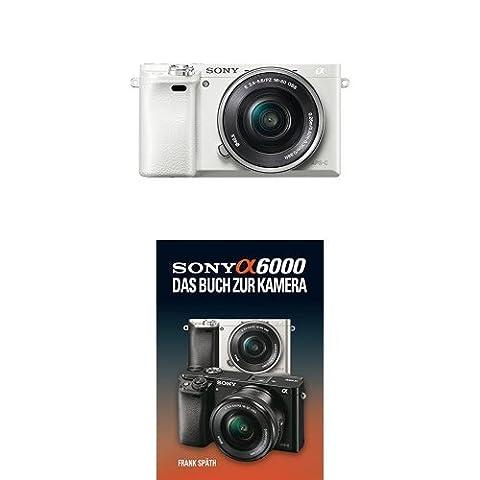 Sony Alpha 6000 Systemkamera inkl. SEL-P1650 Objektiv weiß + Sony