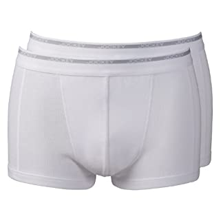 Jockey 2 Pack Short Trunk Boxer Shorts 4XL White