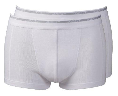 jockeyr-mens-modern-classic-2-pack-fine-cotton-short-trunk-underwear-colour-white-size-m