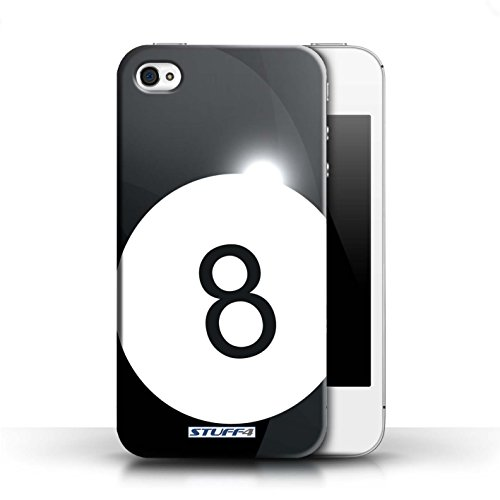 Hülle für Apple iPhone 4/4S / Basketball / Sport Bälle/Ball Kollektion Billard/Pool