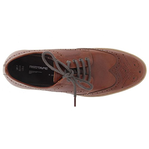 Red Tape , Chaussures de ville à lacets pour homme Marron