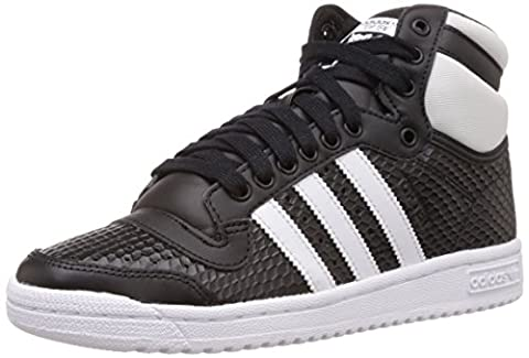 adidas Top Ten Hi, Damen Hohe Sneakers, Schwarz (Core Black/Ftwr White/Core Black), 42 2/3 EU (8.5 Damen