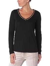 Manoush Basic Fatma - T-Shirt Manches Longues - Uni - Femme