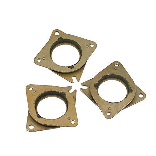 Zeelo NEMA 17 Stepper Vibrationsdämpfer aus Stahl und Gummi mit M3-Schraube für Creality CR-10,10S 3D-Drucker, CNC, 3 Stück