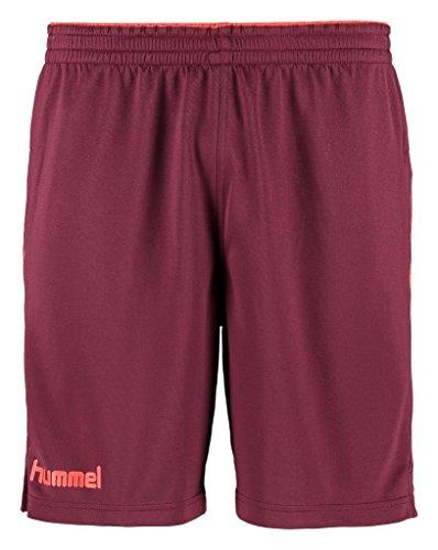 Hummel-Pantaloncini da uomo Kinetic, Uomo, Shorts KINETIC, Sassafrass/Grenadine, M