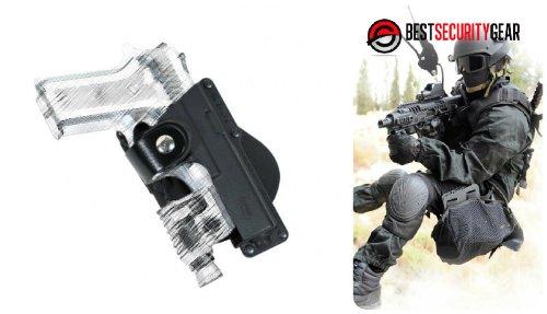 M&p Laser Für 9mm (FOBUS Paddle Holster für Rechtshänder RH in schwarz für Glock 17, 22, 31 mit Lampe & Laser Träger + Ruger 345, SR9 mit Lampe & Laser Träger + Beretta PX4 STORM Full-Size und Beretta 92FS mit Lampe & Laser Träger + Smith & Wesson 99 Full-Size, 9mm .40 & .45 cal Smith & Wesson M&P Full-Size, 9mm .40 & .45 cal mit Lampe & Laser Träger + Walther P99 mit Lampe & Laser Träger FOBUS GLT17 EM17 + Best Security Gear Magnet)