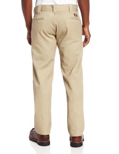 Dickies Herren Sporthose Streetwear Pants Slim Straight Work Light Khaki