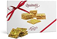 Dolci Siciliani Asaro: Croccanti e Friabili Quadrelli alle Mandorle - Confezione da 300 grammi