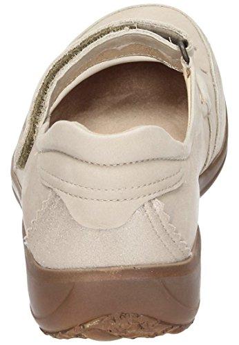 Dr.Brinkmann 840669 Cushy donna scarpe larghezza H 1/2 Beige