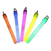 100x 4 inch Glow Sticks / Glow Batons - Premium Glowsticks from Glowtopia (Mixed)