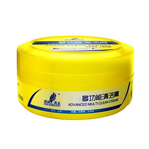 Sulifor Yellow Box Multifunktionsreinigungspaste 260g, Multifunktions-Lederreparaturreiniger Reinigungscreme Reparaturwerkzeugcreme