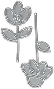 Paper Smooches Metal Die-Dainty Flowers