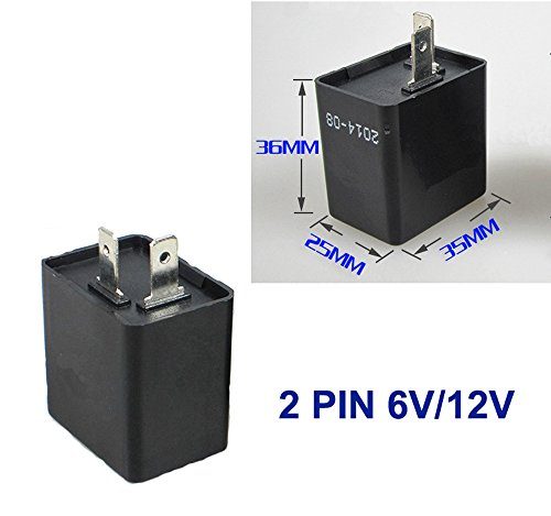 Preisvergleich Produktbild Relais für 6V / 12V LED Blinker 2pol Blinkgeber Blink Flasher Rele Deutsche Post