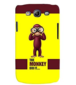 PRINTVISA Quotes Cartoon Funny Case Cover for Samsung Galaxy S3 I9300