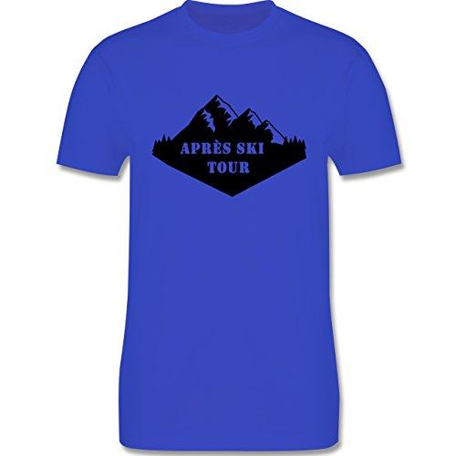 Après Ski - Apres Ski Tour - Herren Premium T-Shirt Royalblau