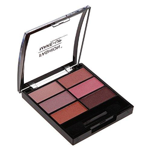 Fashion Make-Up FMU1100403 Ombres à Paupières 6 Classic N°3 Déclinaison Rose