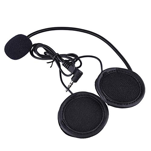 VNETPHONE Auriculares Para Casco Moto micrófono auricular auriculares Jack enchufe para nuevo...