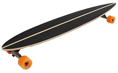 authentic sports & toys GmbH No Rules Longboard ABEC 7, Skull-Flower