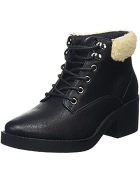 New Look Damen Bear Shearling Kurzschaft Stiefel