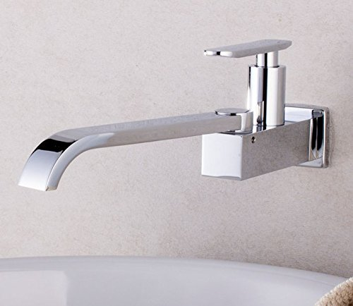 UHM Ottone cromato cucina LAVABO VASCA LAVELLO rubinetto fredda singolo rubinetto miscelatore
