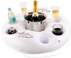 Bar flottant pour piscine jardin for Bar gonflable pour piscine