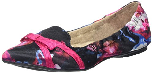 Butterfly Twists Jaime, Ballerine Donna Multicolore (Raspberry)
