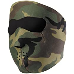 """CAGOULE / MASQUE NEOPRENE """"CAMOUFLAGE"""" - AIRSOFT / PAINTBALL / MOTO / SKI / OUTDOOR"""